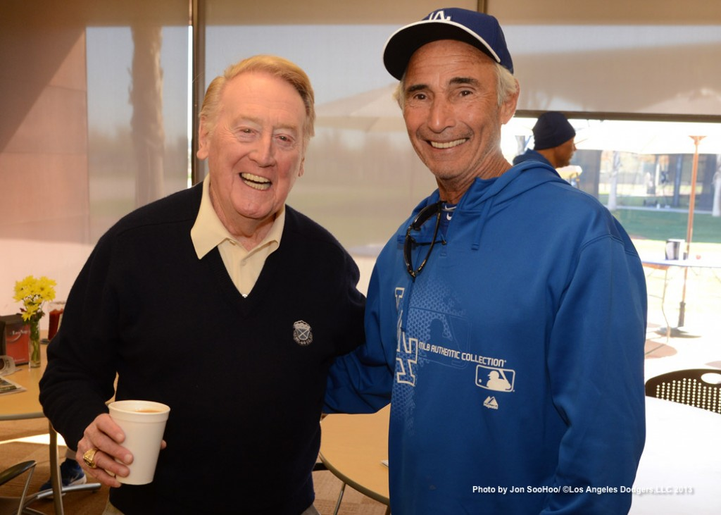 All Time Keeper Vin Scully And Sandy Koufax Dodger Thoughts