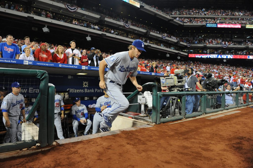 NLCS-GAME ONE-LOS ANGELES DODGERS VS PHILADELPHIA PHILLIES