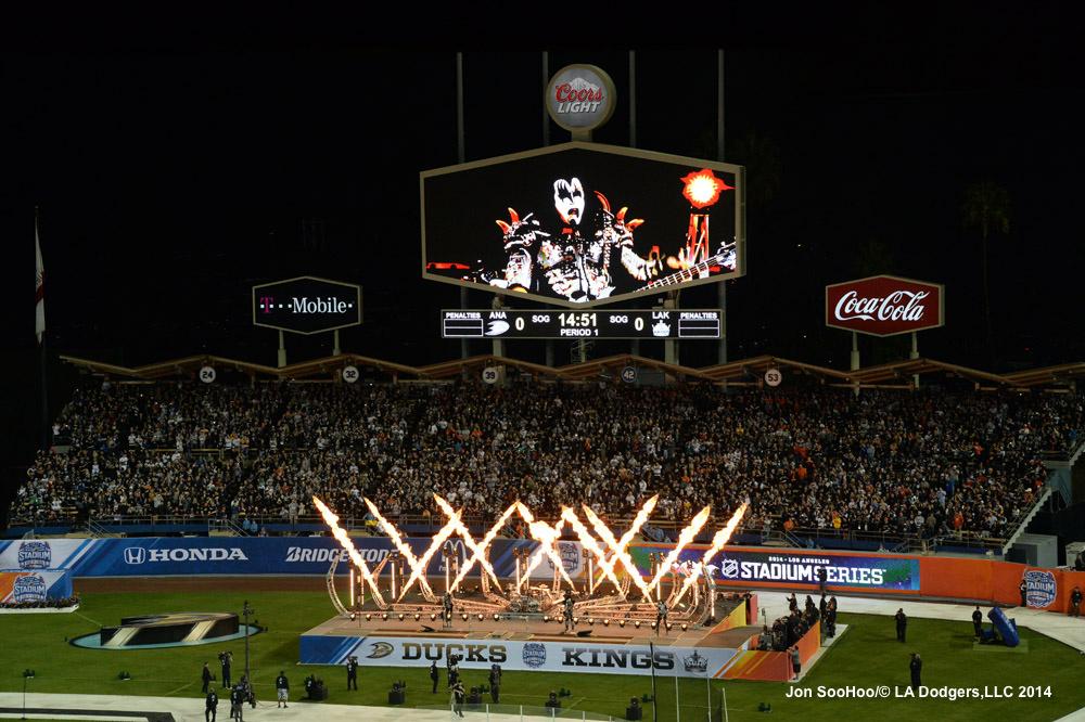 STADIUM SERIES-LOS ANGELES KINGS VS ANAHEIM DUCKS
