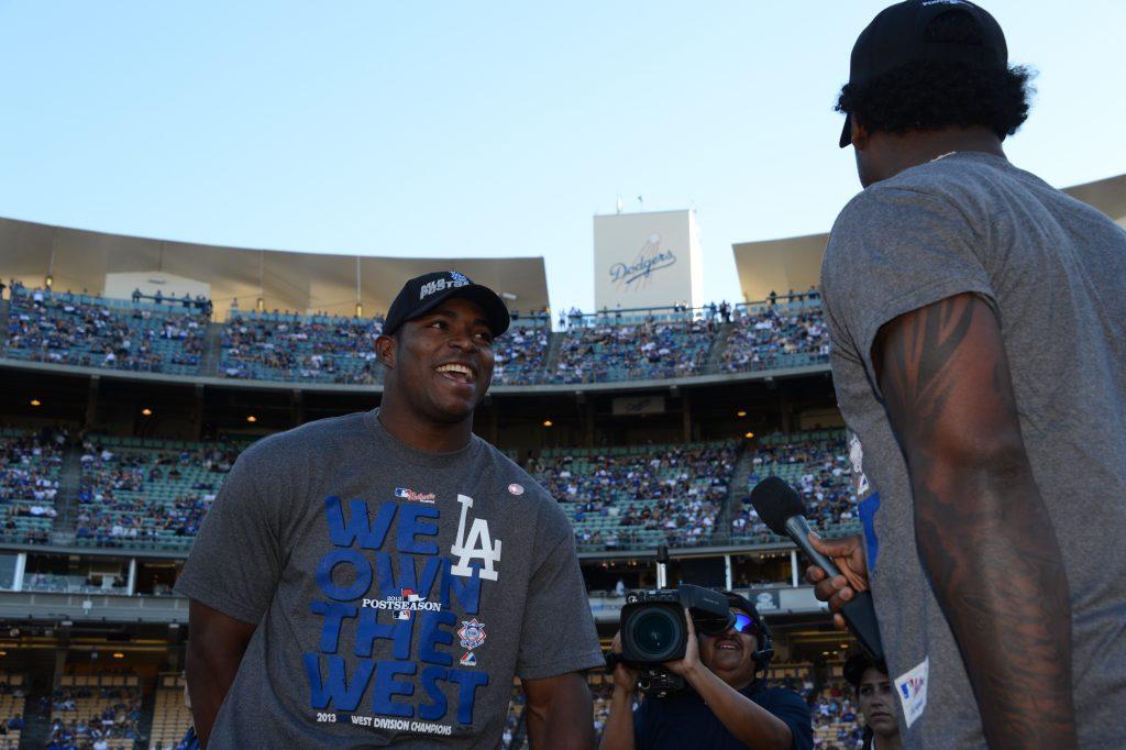 Jon SooHoo/© Los Angeles Dodgers, LLC 2013