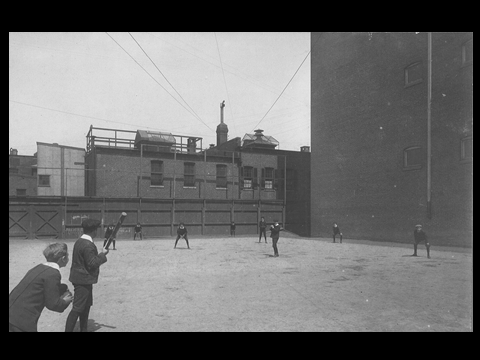 F Barton Harvey pitcher rooftop downtown Baltimore 1905