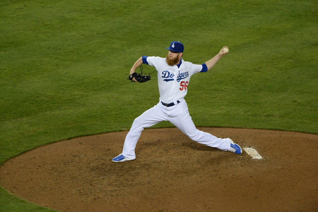 A late-season slump helped lower J.P. Howell's performance relative to 2013. (Jon SooHoo/Los Angeles Dodgers)