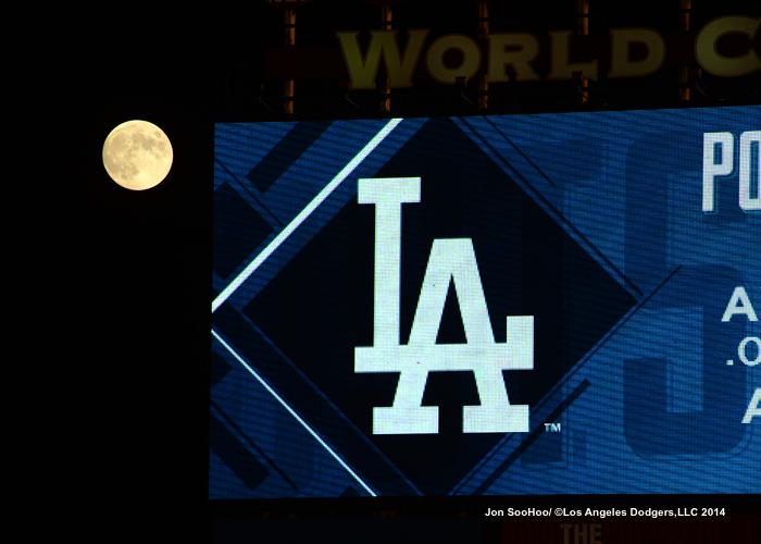 NLDS-Game Four-Los Angeles Dodgers against the St.Louis Cardinals