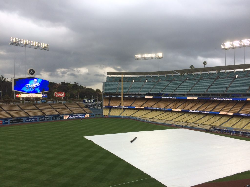 Whither the weather, Dodgers and Rockies will get it