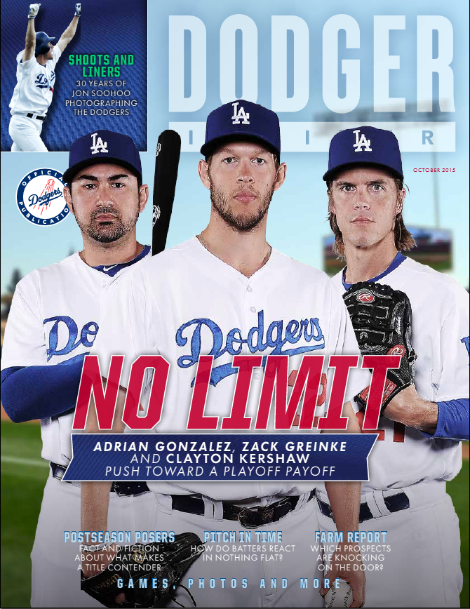 October 2015 magazine cover