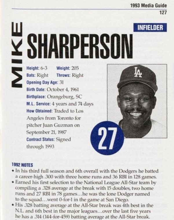 Sharperson media guide