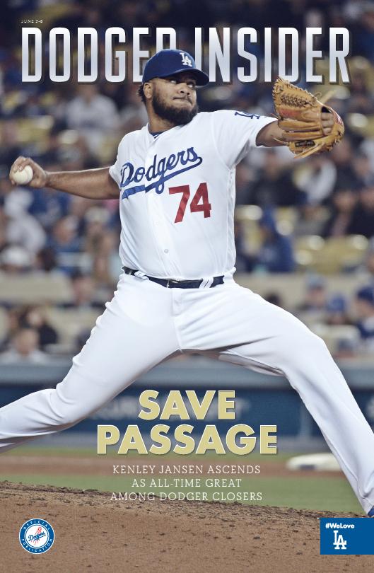 2016 HS05 Dodger Insider cover