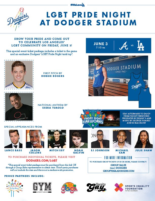 lgbt - Dodgers Opening Day 2018: Full Promotional Schedule With Photos of Giveaway Items